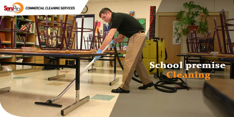 How does a clean school premise ensure a better future for students?