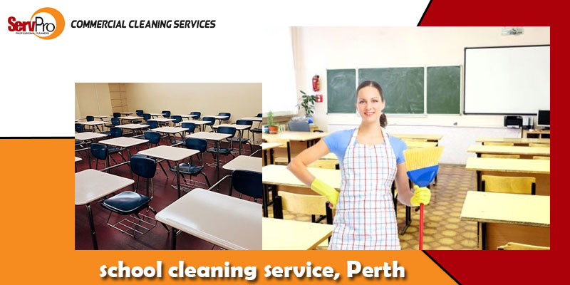 Why is it important to keep the schools clean during COVID?